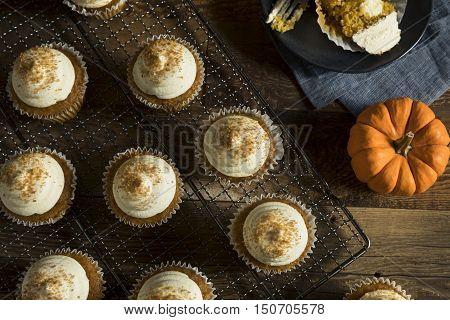 Sweet Homemade Pumpkin Spice Cupcakes