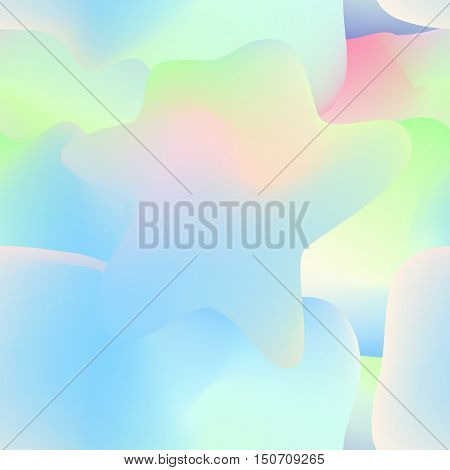 Fluid multicolorl seamless pattern. Vector design for wallpaper, textile, prints