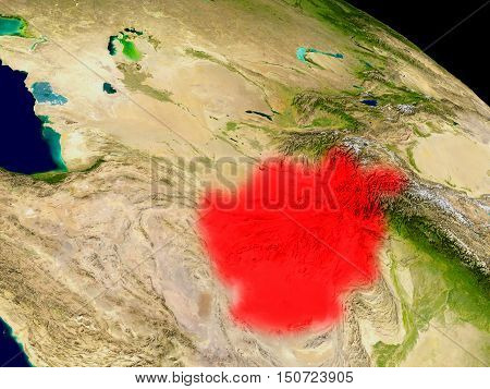 Afghanistan From Space
