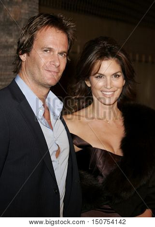 Rande Gerber and Cindy Crawford at the Los Angeles premiere of 'The Good German' held at the Egyptian Theatre in Hollywood, USA on December 4, 2006.
