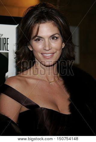 Cindy Crawford at the Los Angeles premiere of 'The Good German' held at the Egyptian Theatre in Hollywood, USA on December 4, 2006.