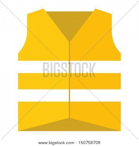 Protective vest vector illustration.