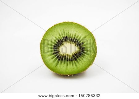 kiwi fruit isolated on white green kiwi fruit kiwi fruit sliced seed of kiwi fruit