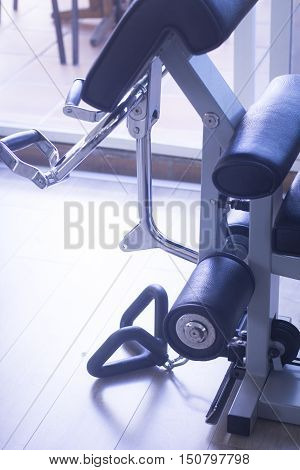 Gym Exercise Weights Machine