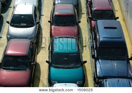 Cars In Lines