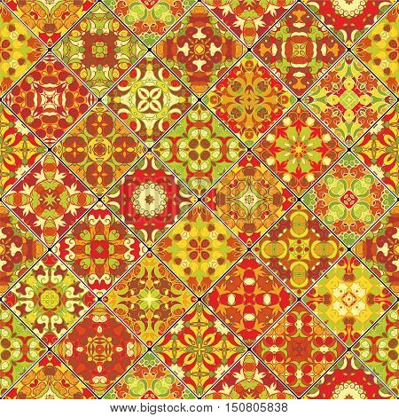Collection Of Orange Abstract Patterns