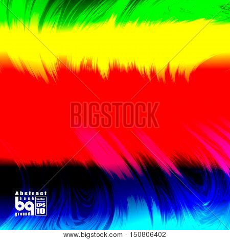 Vector illustration futuristic colorful texture abstract background glitch rainbow