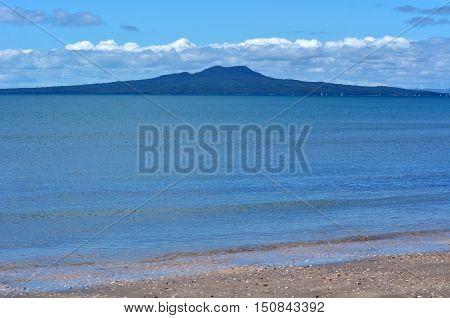Rangitoto Island Landscape New Zealand