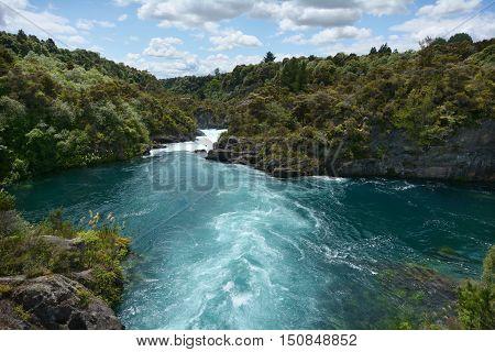 Aratiatia Rapids Near Taupo - New Zealand