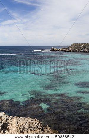Little Salmon Beach, Rottnest Island, Western Australia, Australia