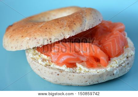 New York Salmon Bagel