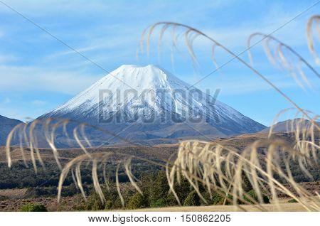 Tongariro National Park Mount Ruapehu