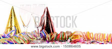 Party Decoration With Sparkling Wine