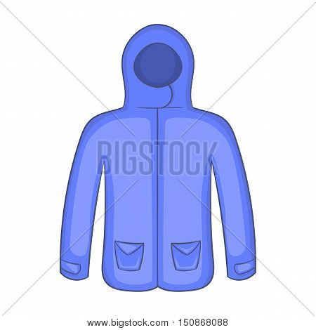 Hoodie sweater icon in cartoon style isolated on white background vector illustration