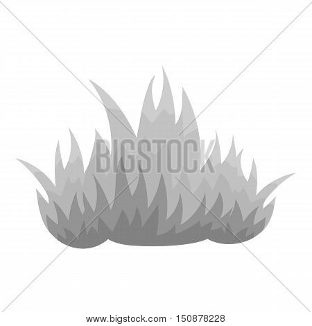 Fire icon monochrome style. Single silhouette fire equipment icon from the big fire Department monochrome - stock vector