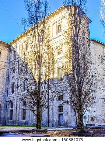 Hdr Palazzo Pilotta Parma