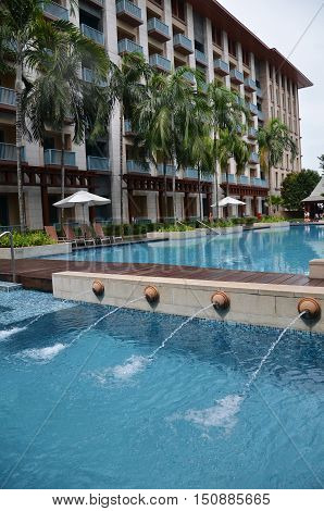 Swimming Pool Of Festive Hotel Sentosa