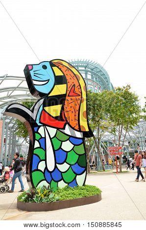 Daytime Waterfront Studios Singapore