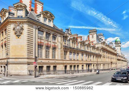 Paris, France - July 08, 2016 : University Of Paris (universite De Paris), Metonymically Known As Th