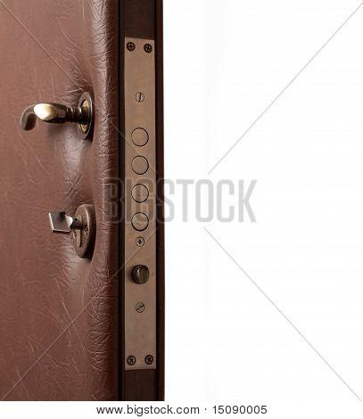 Opened Door With Copyspace
