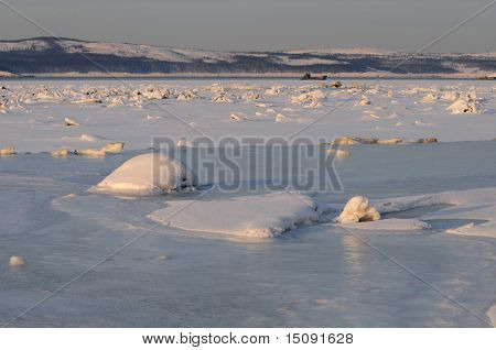 The ice hummock