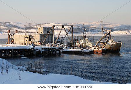 Arktischen navigation