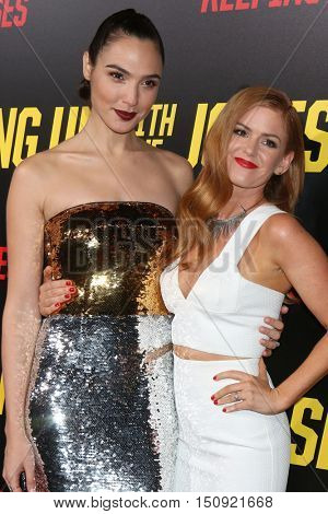 LOS ANGELES - OCT 8:  Gal Gadot, Isla Fisher at the