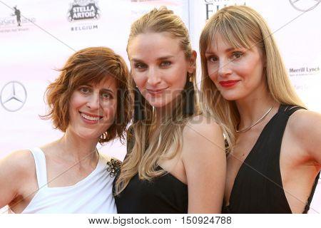 LOS ANGELES - OCT 1:  Melissa Kent, Brianna Barnes, Maria Granberg at the Catalina Film Festival - Saturday at the Casino on October 1, 2016 in Avalon, Catalina Island, CA