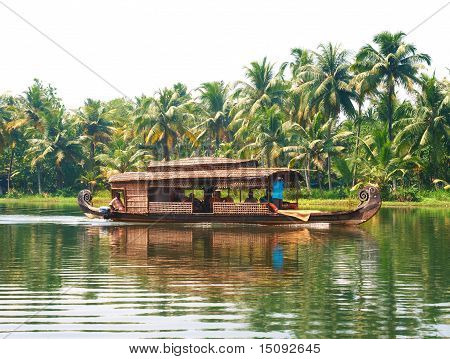 Through the backwaters of Kerala, India