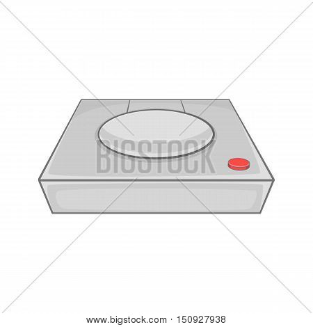 Game console icon. Cartoon illustration of console vector icon for web design