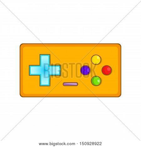 Gamepad icon. Cartoon illustration of gamepad vector icon for web design