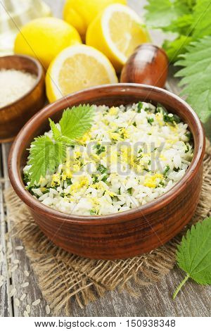 Risotto With Nettles