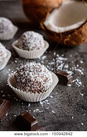 No Bake Coconut Balls