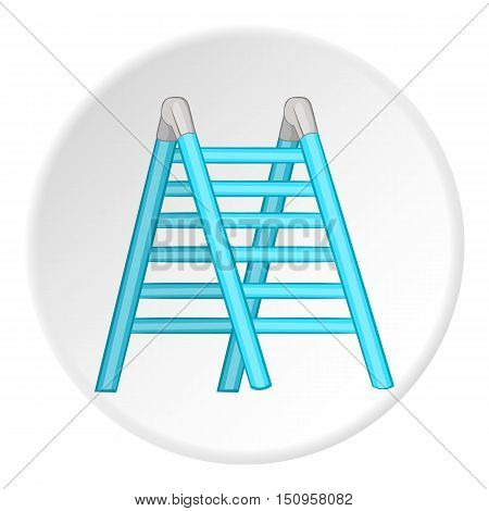 Ladder icon. Cartoon illustration of ladder vector icon for web