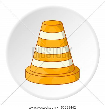 Road repair sign icon. Cartoon illustration of road repair sign vector icon for web