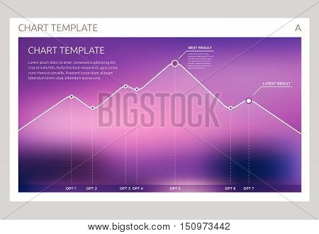 Infographic Vector Design Interface Template Design. Transparent User Interface Minimalistic Widget