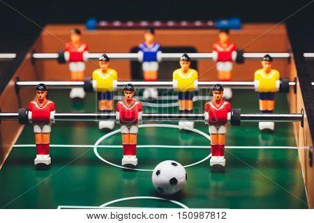 table football soccer game (kicker)