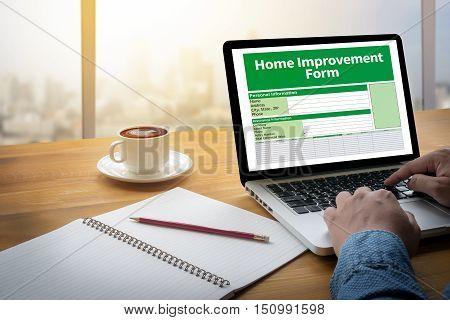 Home Improvement Form Personnel Details Home