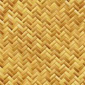 Woven basket texture seamlessly tiling rendered background illustration