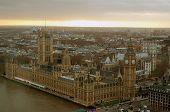 pic of big-ben  - Big Ben London during Sunset viewed from London Eye - JPG
