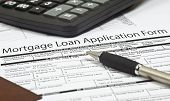Mortgage Loan Application Form poster