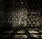 picture of linoleum  - old grunge room with linoleum - JPG