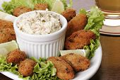 pic of pasteis  - Cod fish cakes  - JPG