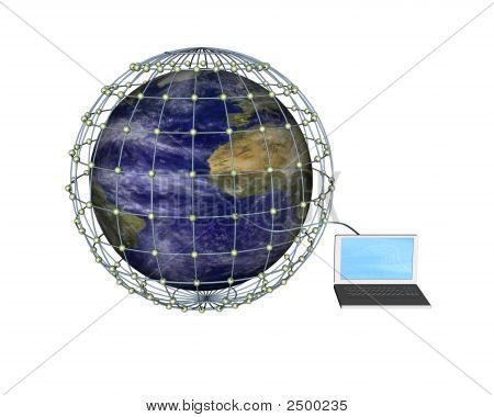 Connected To The Global Computer Network