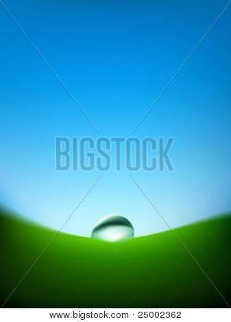 vector raindrop background
