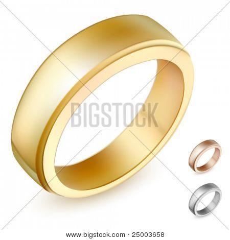 ilustração em vetor anel