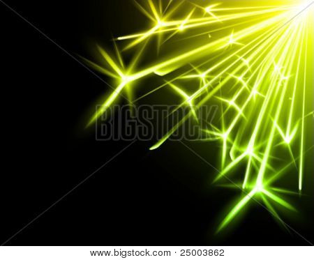 vector sparkler illustration