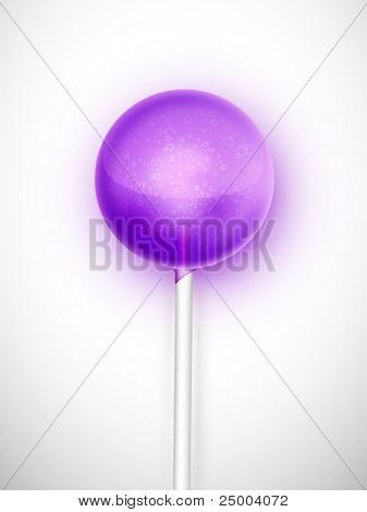 vector lollypop illustration