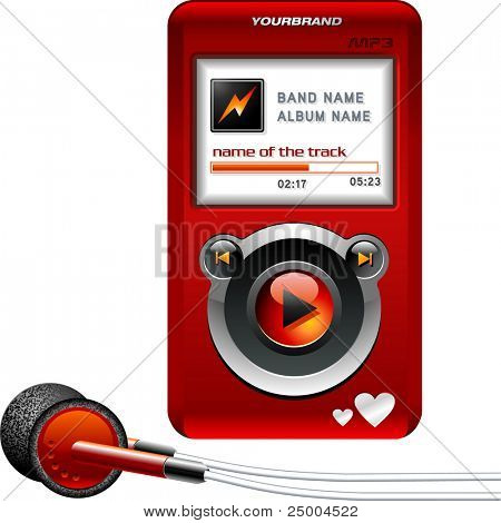 Music player for her