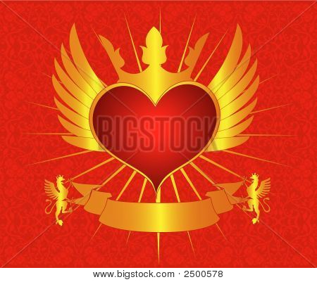 Romantic Background Vector Design Decor Artistic Illustration